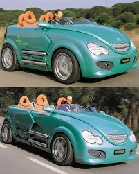 four seat 2002 rinspeed presto can t decide between a two seat cabrio or a