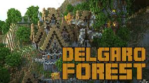 The Forest Game Map Delgaro Forest Minecraft Survival Games Map Youtube