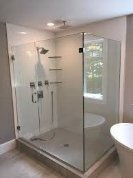 Clear Shower Door by Glass Shower Door Gallery Franklin Glass Company