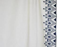 Moroccan Style Curtains Moroccan Curtains Etsy
