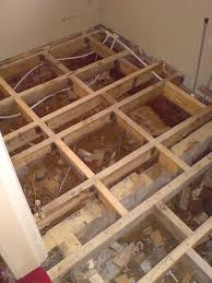 Rotten Bathroom Floor - uk bathroom