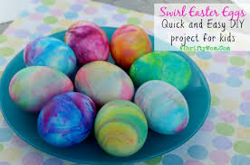 easter dying eggs swirl easter eggs how to dye easter eggs with