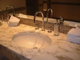 Overmount Bathroom Sink Drop In Bathroom Sink With Granite Countertop Best Bathroom