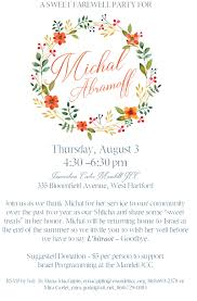 mandell jcc of greater hartford farewell party for michal abramoff