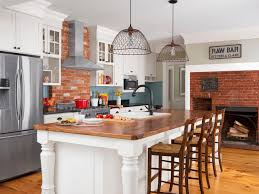 a kitchen that combines old with new hgtv