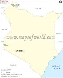 Blank Political Map Of South Africa by Blank Map Of Kenya Kenya Outline Map
