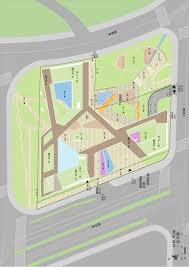 building site plan gallery of shanghai hongqiao cbd office headquarters building