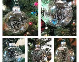 etched ornaments etsy