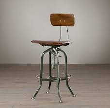 Vintage Industrial Bar Stool Restoration Hardware Bar Stool Facil Furniture