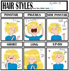 Short Hair Meme - hair style meme finn the human by natto ngooyen on deviantart