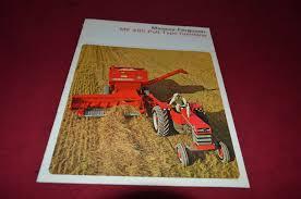 massey ferguson 405 pull type combine dealer u0027s brochure yabe9