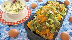 comment cuisiner les haricots plats haricots plats en salade recette entrées froides supertoinette
