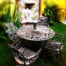 Rustic Patio Furniture Sets by Rustic Patio Iron Furniture