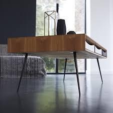 tikamoon ruben teak coffee table 135x65