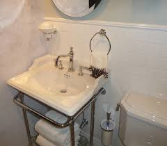 designer bath blog 12 photos showing california style perrin and rowe part of the rohl brand is very new england looking in fact we have the console sink below in our showroom