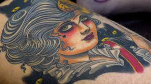 the changing face of female tattoos bbc news