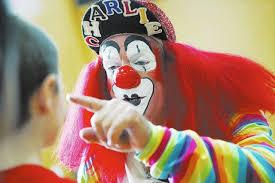 happy birthday creepy clown scary creepy clown sensation saddens real clowns who only want to bring