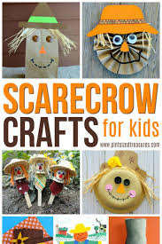 easy scarecrow crafts for kids pint sized treasures