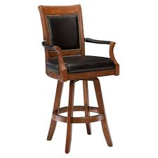 Leather Swivel Bar Stool Leather Swivel Bar Stools With Back Bar Stool Collections