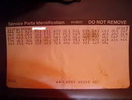 members post your rpo codes page 3 third generation f body