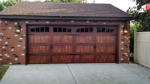 Overhead Garage Door Cincinnati by 5916 C H I Mahogany Long Panel Carriage House With 2 2 Piece