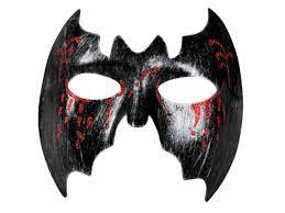 bloody vampire bat mask partynutters uk