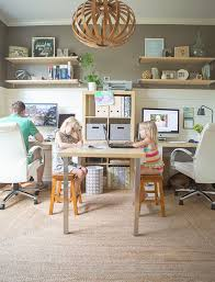 22 creative workspace ideas for couples brit co