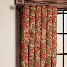 Paisley Curtains Bali Paisley Room Darkening Window Treatments