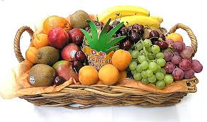 basket of fruit bulgaria florist fruit cheese gourmet gift baskets flowers
