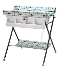 Change Table With Bath Nanny Pacific Changing Unit Bath And Change Table