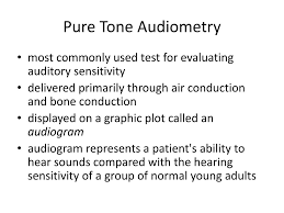 Pure Black Tone Ppt Pure Tone Audiometry Powerpoint Presentation Id 651135