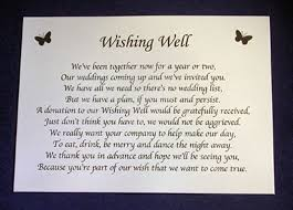 wedding wishes poem sle wedding invitation monetary request search wedding