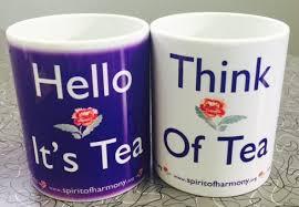 Tea And Coffee Mugs Hello It U0027s Tea Think Of Tea Mugs Spirit Of Harmony Foundation