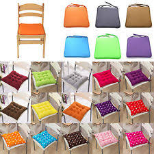 Dining Room Chair Cushions With Ties Dining Room Chair Cushions Ebay