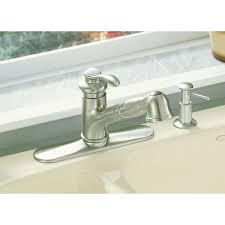 Kohler Fairfax Kitchen Faucet Kohler Faucet K 12177 Cp Fairfax Polished Chrome Pullout Spray