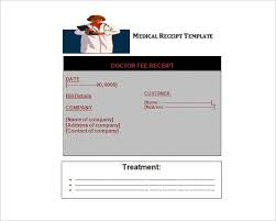 doctor receipt template 21 free word pdf documents download