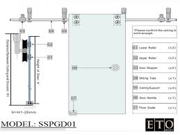 Barn Door Track System Home Depot by Bypass Barn Door Hardware Cheap Fresh Idea To Design Your Image