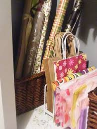 how to store wrapping paper and gift bags thrift store calling paper sorters paper sorter