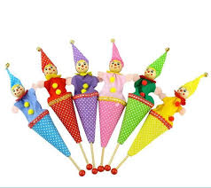 clown puppets for sale 6pcs lot baby pop up puppets sale lovely clown
