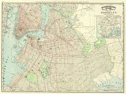 United States Street Map by File 1897 Brooklyn Map Jpg Wikimedia Commons