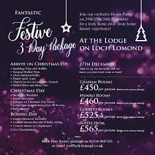 festive 3 day package