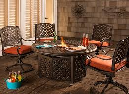 Raymour And Flanigan Dining Room Moreaux 5 Pc Fire Pit Dining Set Outdoor Dining Rooms Raymour