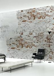25 best ideas about bedroom wallpaper on pinterest bed tree and create your own industrial wall in no time with this plaster brick wallpaper mural bywallpapers for