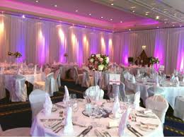 wedding backdrop ireland pipe drape beautiful room draping frog prince