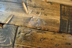 how to distress wood photos house
