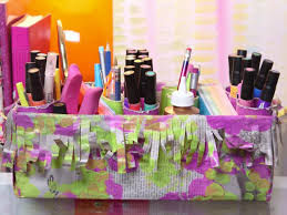crafting for kids decorated desk caddy
