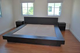 King Size Platform Bed Plans by Simple Diy Bed Platform Building Simple Diy Bed Platform
