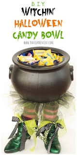 halloween candy bowls diy witchin u0027 halloween candy bowl