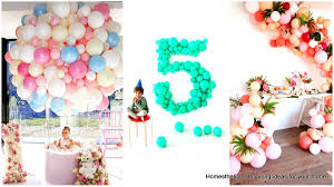 balloon decoration for birthday at home balloon decorations ideas birthday decoration at home for weddings