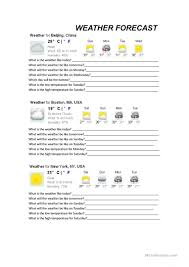 131 free esl weather worksheets for adults